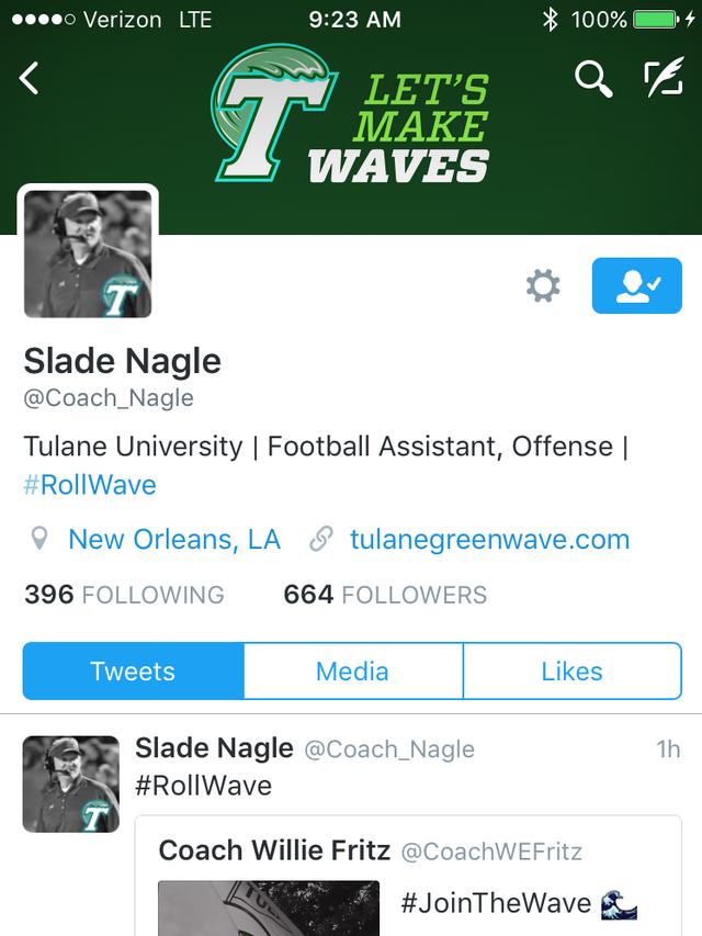 ULM assistant Nagle takes job at Tulane