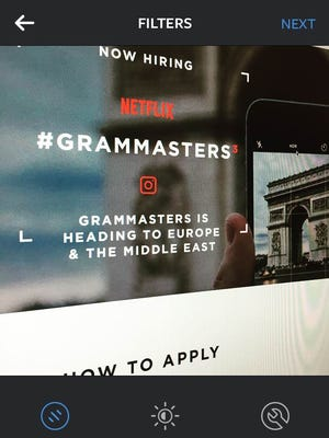 "You're going to need to do better than this Instagram photo to become a ""Grammaster."""