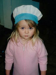 Food writer Brooke Jackson-Glidden, in her early years as a chef. Photo by Debra Jackson, Brooke's mother.