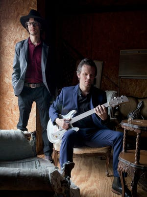 Cody Dickinson, left, and brother Luther Dickinson formed the Grammy Award-winning North Mississippi Allstars in 1996. The group plays a record release show at Crosstown Theater on Friday.