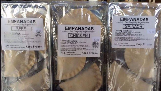Mama Lina's empanadas.