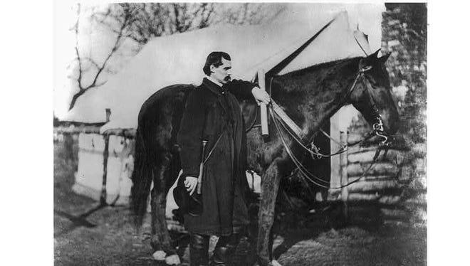 Prof. T.S.C. Lowe, Civil War balloonist.