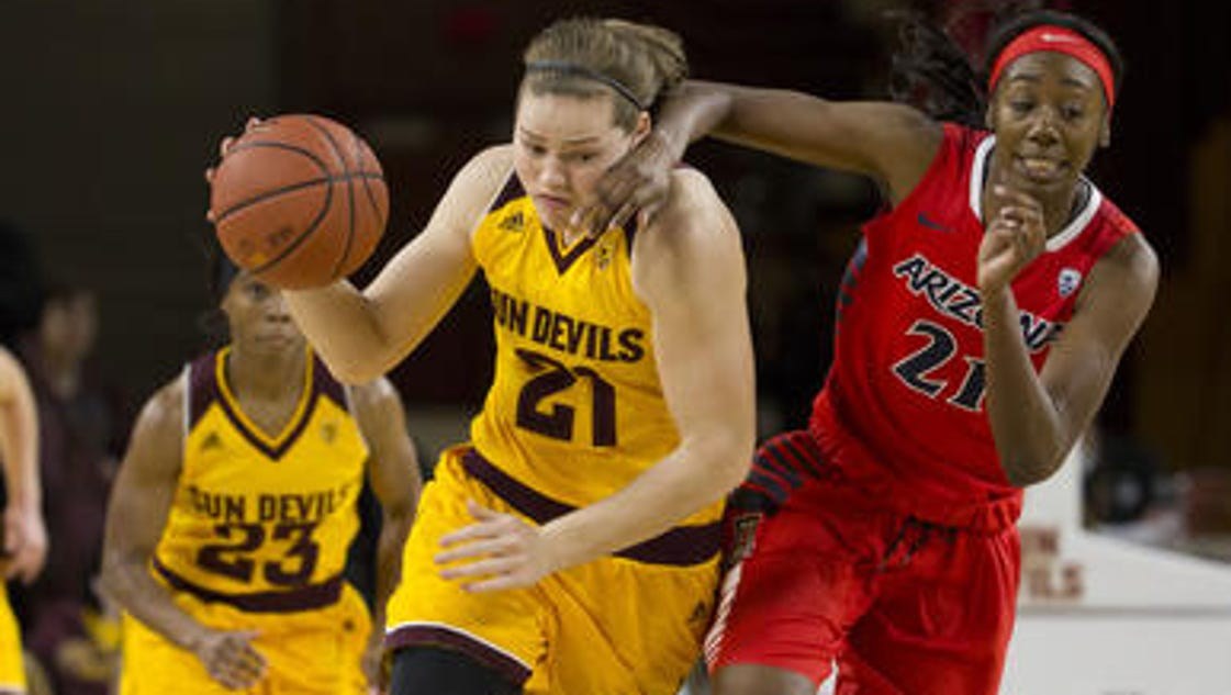 ASU women put record 3 players on All Pac-12 team
