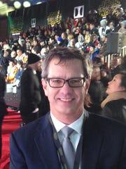 "Kodak's Andrew Evenski at  Monday's premiere of ""Star"