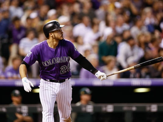 MLB: Oakland Athletics at Colorado Rockies