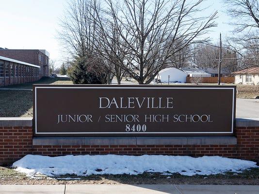 Daleville HS sign