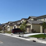 Housing under construction in south Reno by RC Willey April 15, 2016.