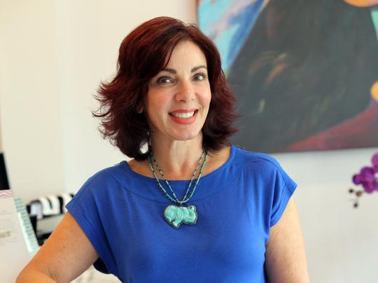 Julie Pipolo, owner of Skin N.Y. is photographed in her salon in Rye on June 20, 2014.