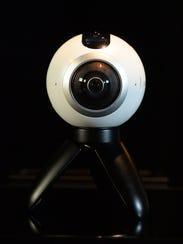 Samsung Gear 360 camera .