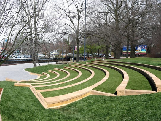 A rendering of the new amphitheater on Salisbury's
