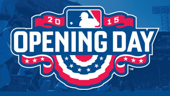 Christmas in April. Opening Day.