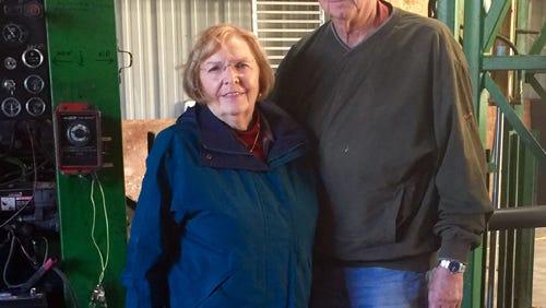 Wally and Sharon Huggett