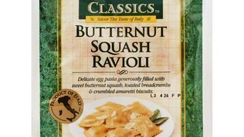 Wegmans is recalling its Italian Classics Butternut Squash Ravioli product because of undisclosed cashews, almonds as of Nov. 18, 2015.