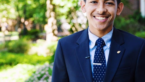 Throughout this semester and into the summer, Brown will serve a term on the NAPAAHC National Board of Trustees and offer a student perspective to help the organization grow in popularity at the university level.