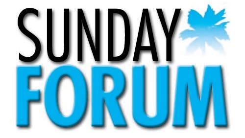 Sunday Forum.
