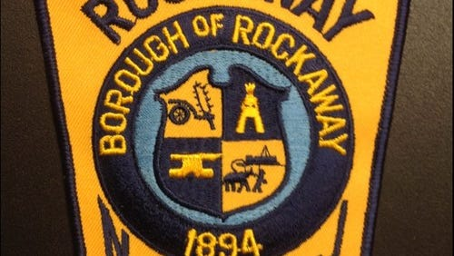A patch from Rockaway Borough Police Department from 2015 file photo