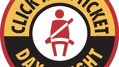 Click It or Ticket campaign underway during holiday weekend.