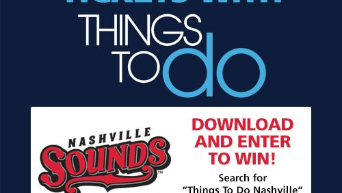 Download the Things to Do Nashville app and enter to win.