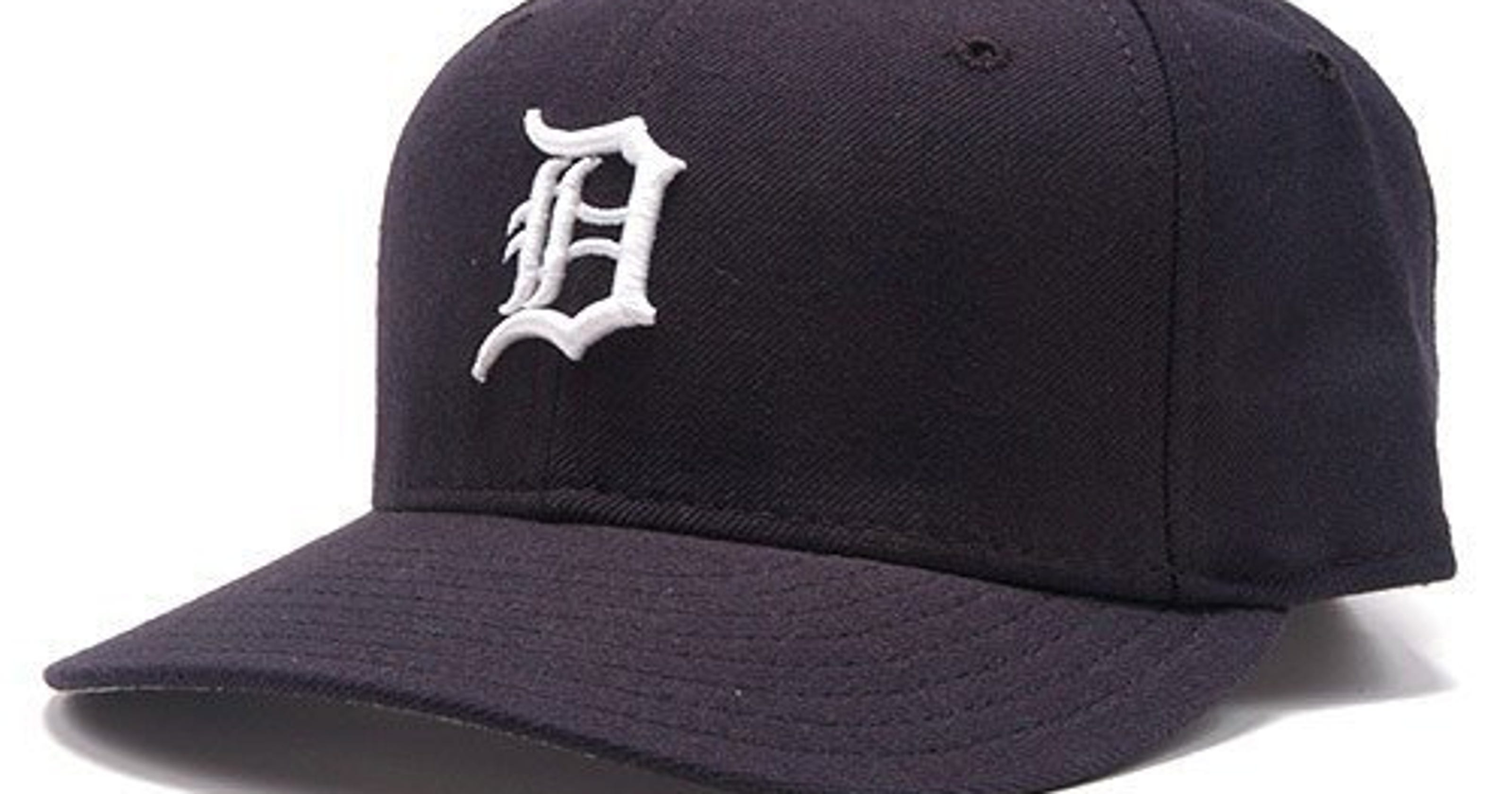 ecffebf14a6 Detroit Tigers will wear smaller Old English  D  on caps this season