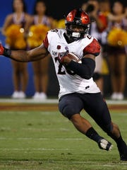 Meet San Diego State's Rashaad Penny, the NCAA's leading rusher who continues to build his Heisman resume.