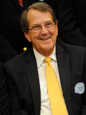 Former Michigan football coach Lloyd Carr.