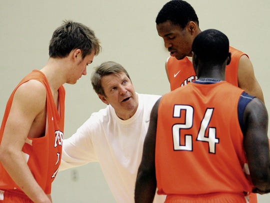 Tim Floyd coached for 42 years, stalking a basketball