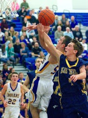 Greencastle's Brandon Stuhler, right, has come on strong