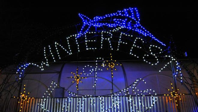 Winterfest of Lights is a celebrated Ocean City holiday tradition.