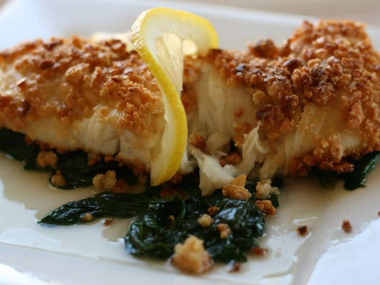 Almond-crusted Halibut Fillet over Wilted Spinach.jpg