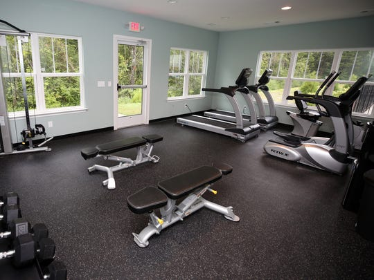 Cottages at Mt. View residents have use of a fitness