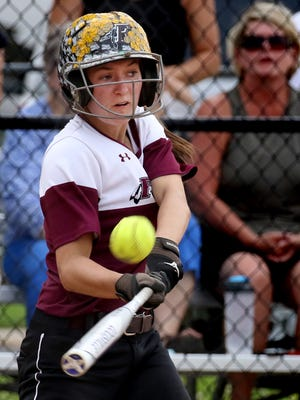 Senior pitcher/infielder Cami Stigler leads Menomonee Falls with a .432 average and has driven in 30 runs.