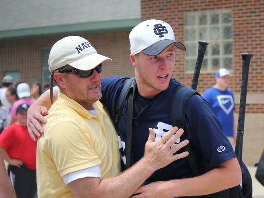 Winning Grosse Pointe South pitcher Cam Shook gets