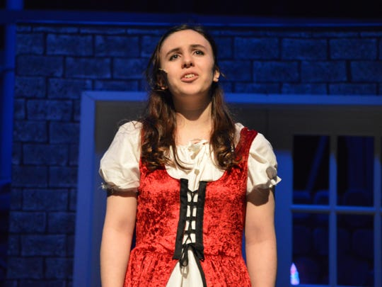 Sophie Tomasi plays Nancy in the weekend production of Oliver!