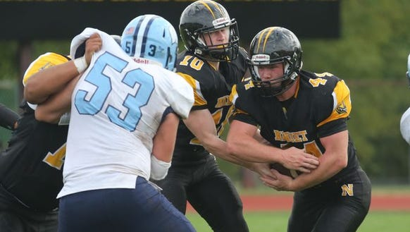 Nanuet's Connor Breit was one of four locals who were