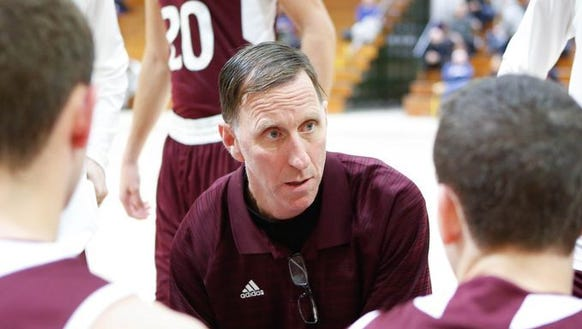 Bill Murphy pictured during a game at his former school, New Rochelle, In just a second year, the Scarsdale coach has led his team to its first County Center appearance since 2008. Less than a year later, Murphy resigned from his position Feb. 2, 2018.