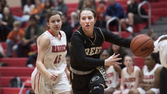 Greenville hosted Greer in girls high school basketball