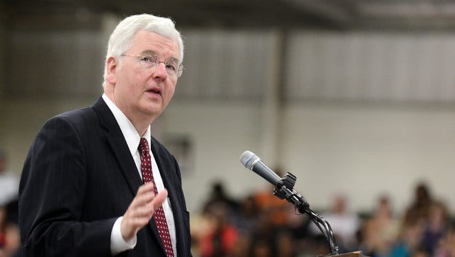 Eric Clark, the head of Mississippi's Community College Board, says he will retire in June.