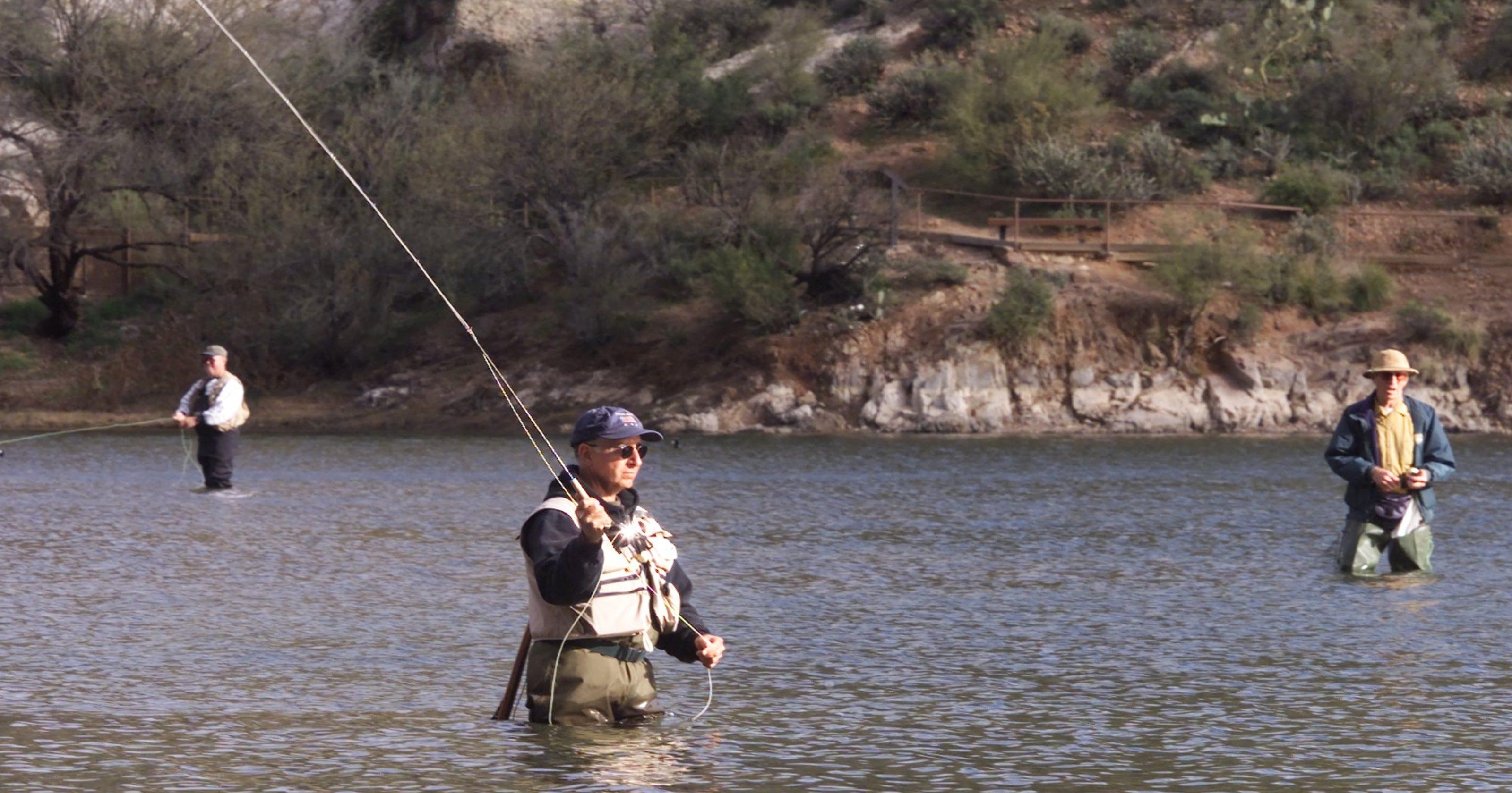 6/7: Free Fishing Day across Arizona