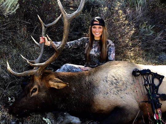 Shelby Halladay holds the record for the largest bighorn sheep killed by a woman in Oregon.
