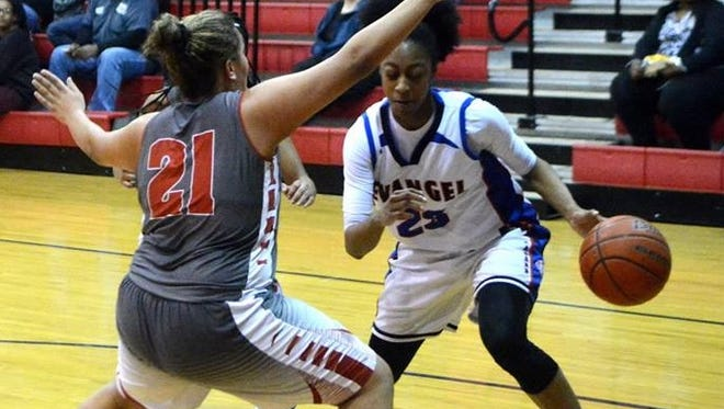Tiara Young led Evangel to a win against Mt. Carmel Thursday night.