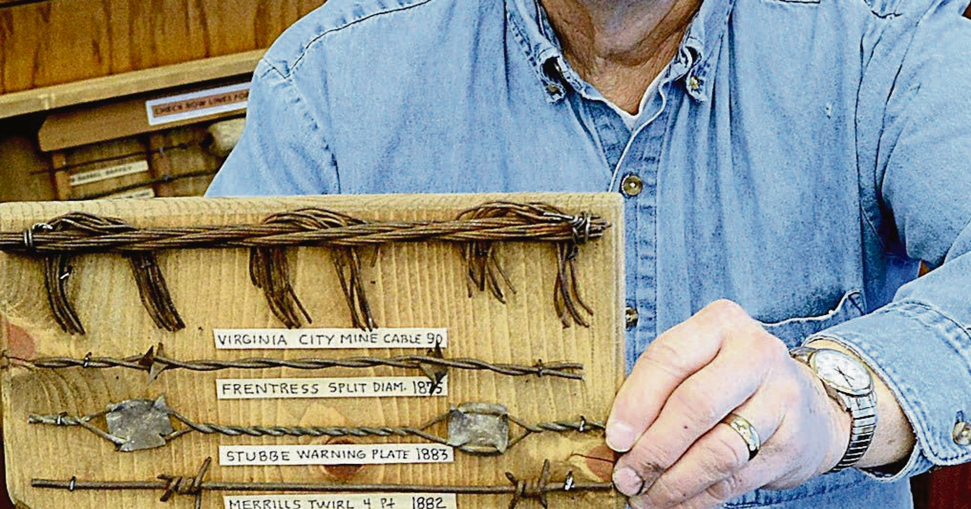 Barbed wire collector: Finds bring back history