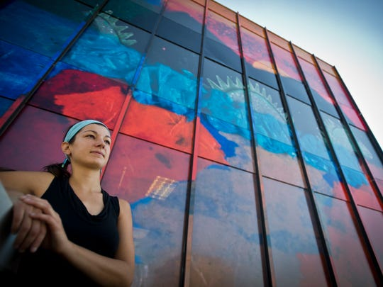 In February, Alissa Faber started a mural project as