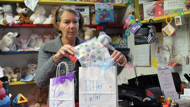 Pitter Patter, a children's specialty boutique, has been open for 25 years. Its owner, Betsy Clark believes that her success is based upon staying open year-round.