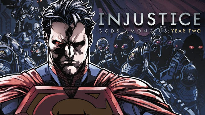 """Superman continues his dark descent in """"Year Two"""" of Tom Taylor's digital-first series """"Injustice: Gods Among Us."""""""