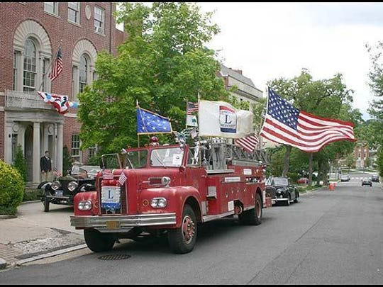 Craig Harmon, director of the Lincoln Highway National Museum and Archives, drove a fire truck on the highway from San Francisco to New York City to help draw attention to the historic highway, also driving it in multiple presidential inaugural parades.