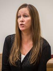 Marcy Brigham, lead plaintiff in a civil suit against