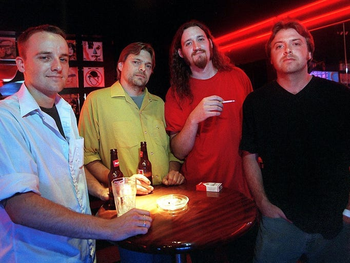 Violet members (from left) Lance Beier, Rich Show,