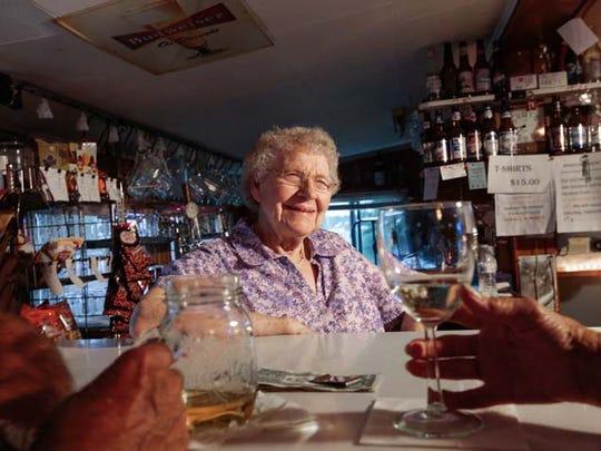 Clarise Grzenkowicz, 96, of Alpena, Mich., has served