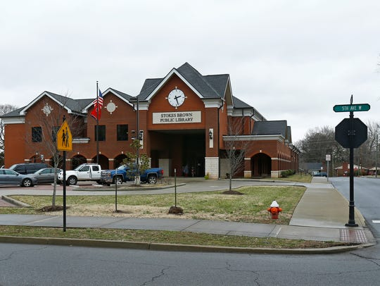 The Stokes Brown Public Libray is located near Springfield's