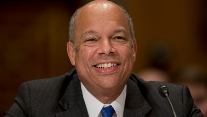 Jeh Johnson, Homeland Security secretary